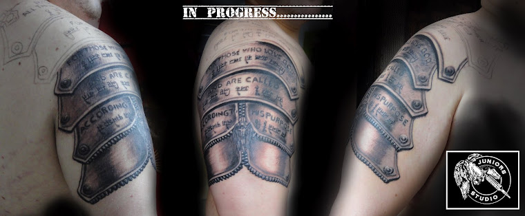 Armor of God tattoo