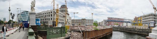 Baustelle Berliner Schloss, Stadtschloss, Schlossplatz, 10178 Berlin, 02.06.2015