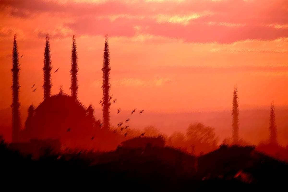 Wallpaper Islam: Wallpaper Islami 054 - Pemandangan Masjid