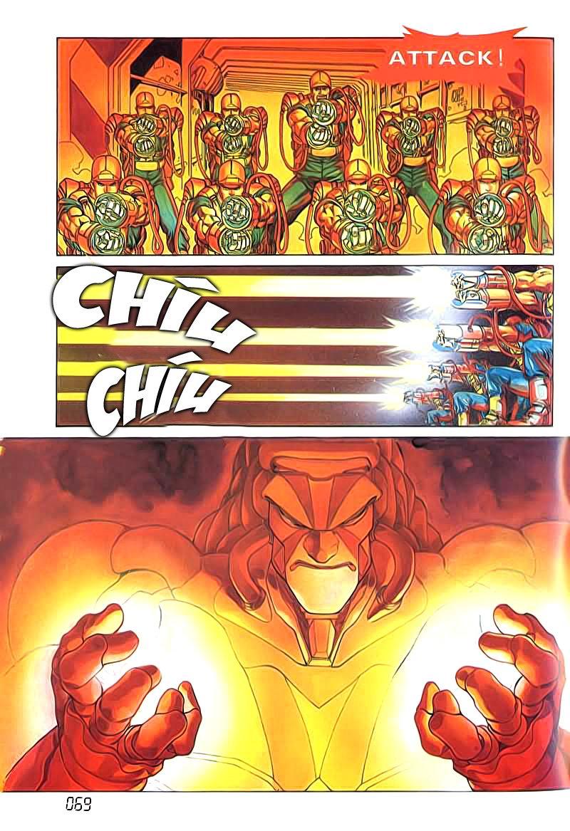 Cyber Weapon Z - Siêu Thần Z chap 4 - Trang 28