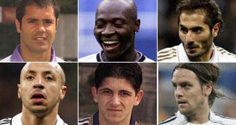 'Top 5' fichajes de paso en el Real Madrid