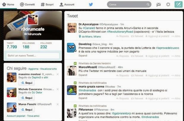 Twitter Layout 2014