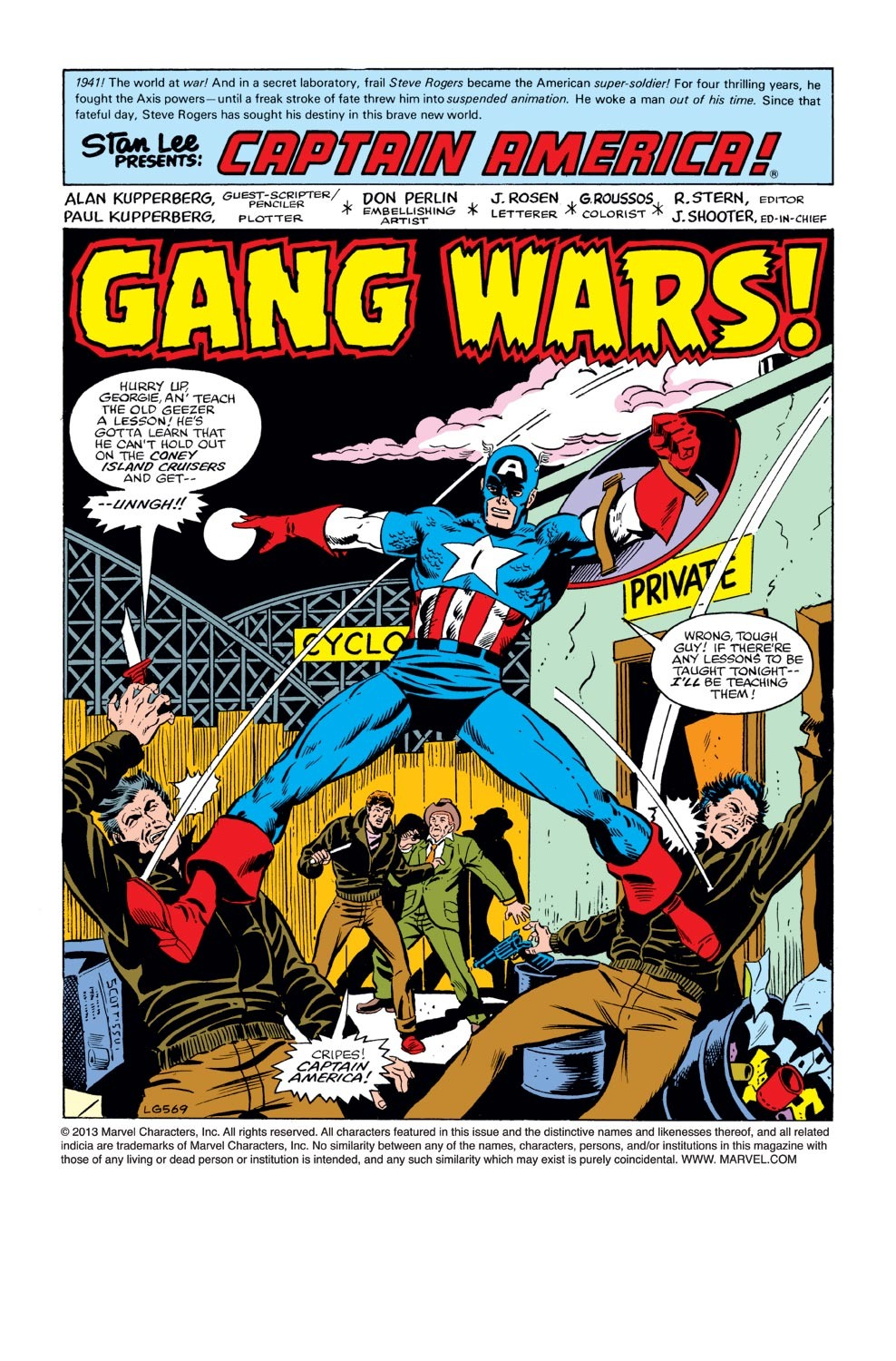 Captain America (1968) Issue #240 #155 - English 2