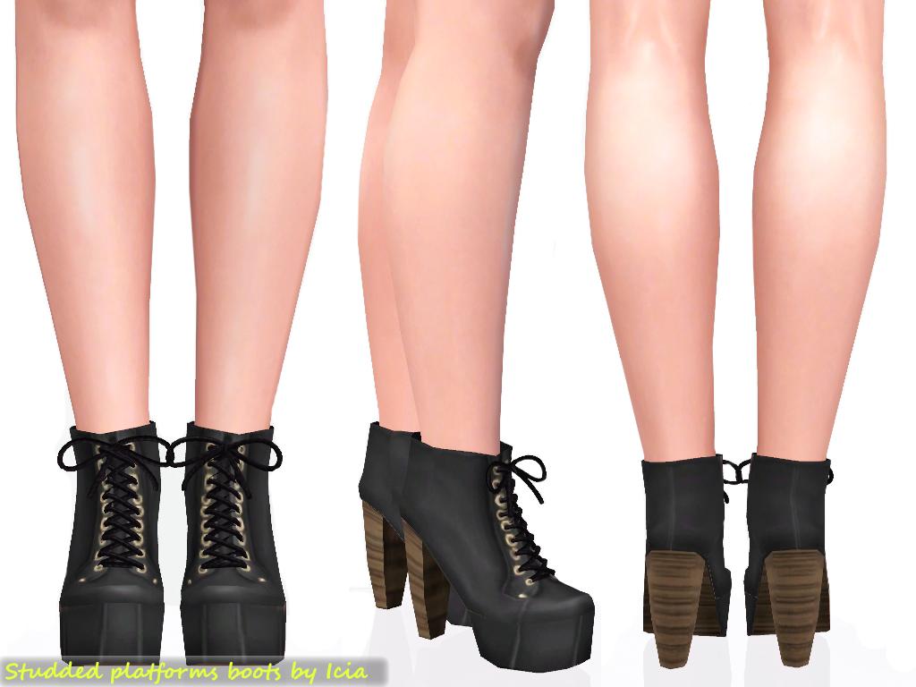 Shoes / Heels Platform+boots