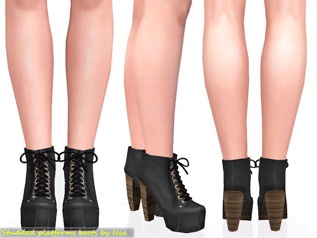Lita Platforms by Icia Platform+boots