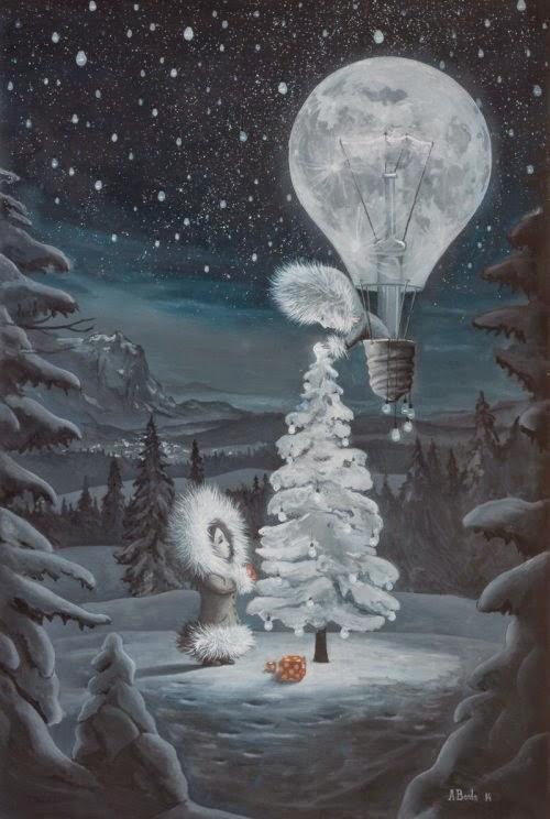 Adrian Borda deviantart pinturas surreais sombrias bizarras