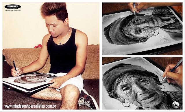 Desenhos Realistas (Maurício Fortunato Araújo
