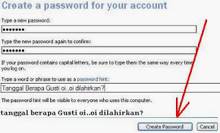 Membuat Password Komputer Windows XP