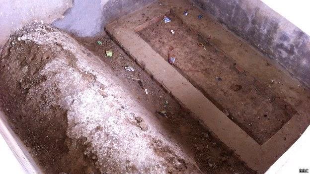 Grave at  Mini Taj Mahal - Bulandshahr