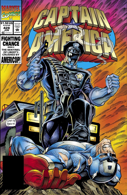 Captain America (1968) Issue #428 #378 - English 1