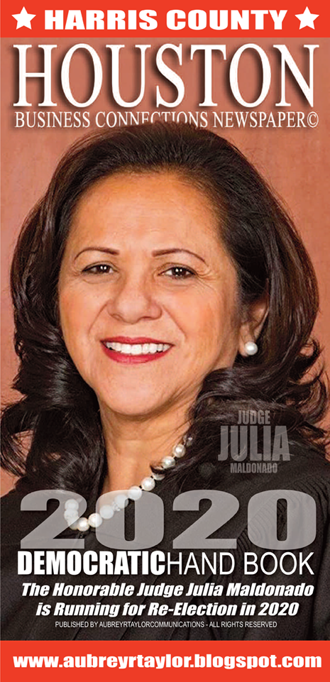 The Honorable Judge Julia Maldonado is running for re-election on Tuesday, March 3, 2020
