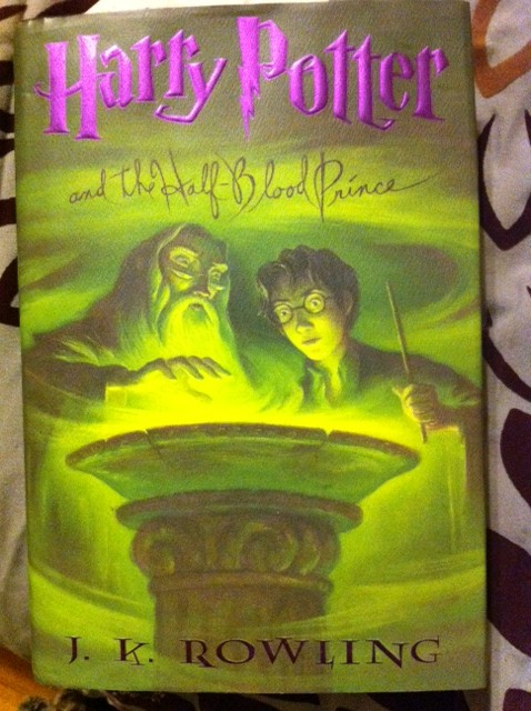 book report of harry potter and the half blood prince