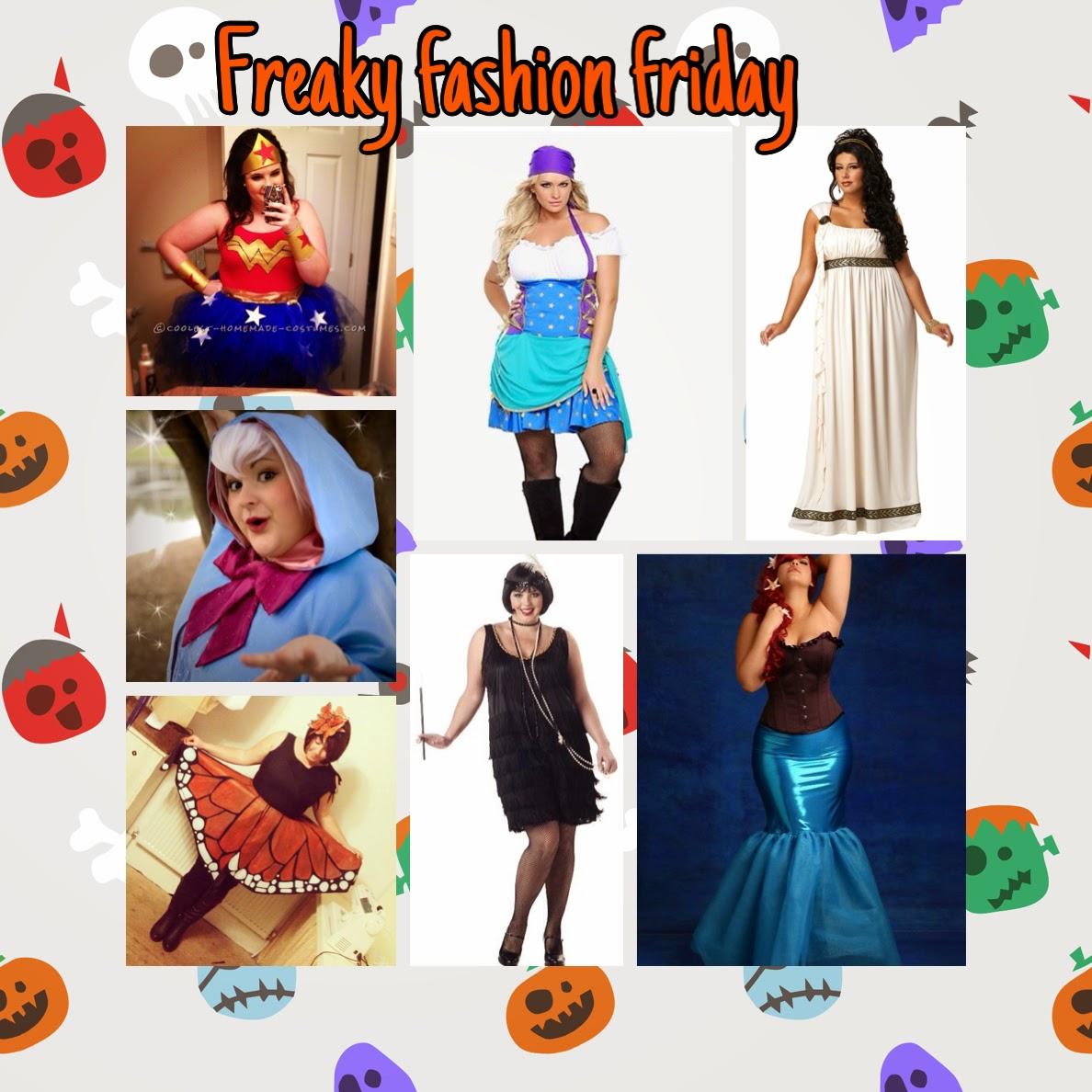 El divan fashionista pluse size halloween for Divan quien fuera el