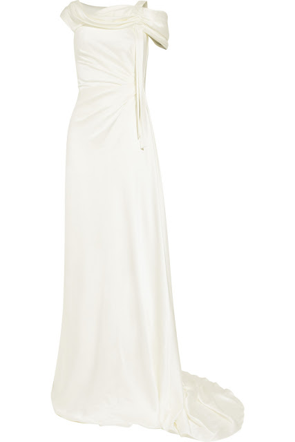 the outnet wedding dress