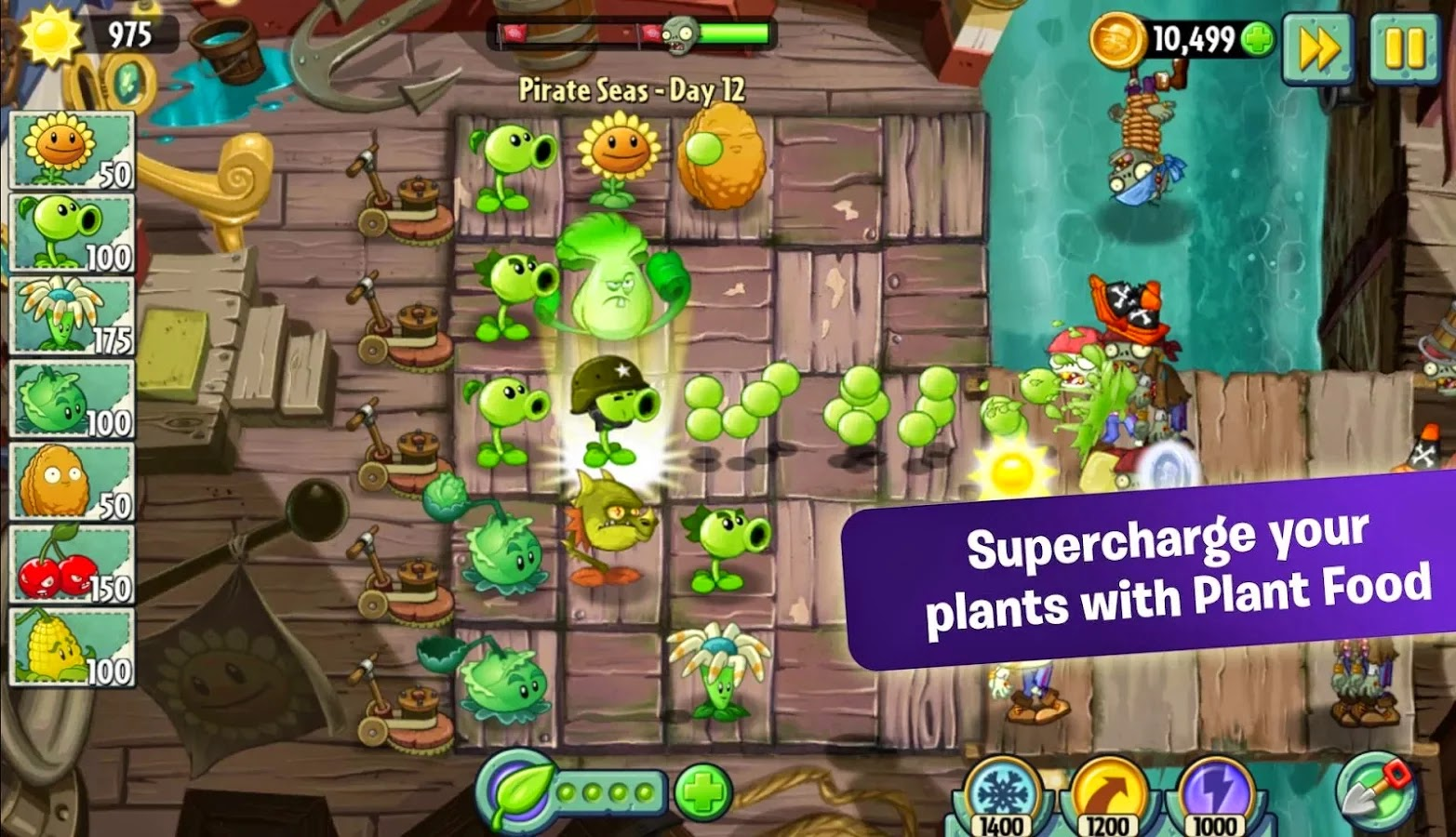 Fruit vs zombies - Plants Vs Zombies 2 Is Available For Android And It S Free