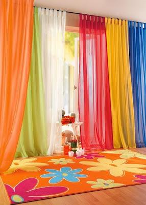 Cortinas para dormitorios de ni as y ni os for Cortinas para dormitorio matrimonial