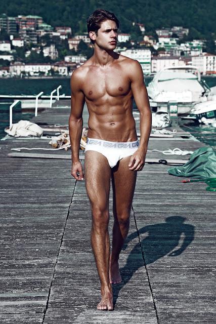 Milan Truska by Fernando Machado - Garcon Model underwear
