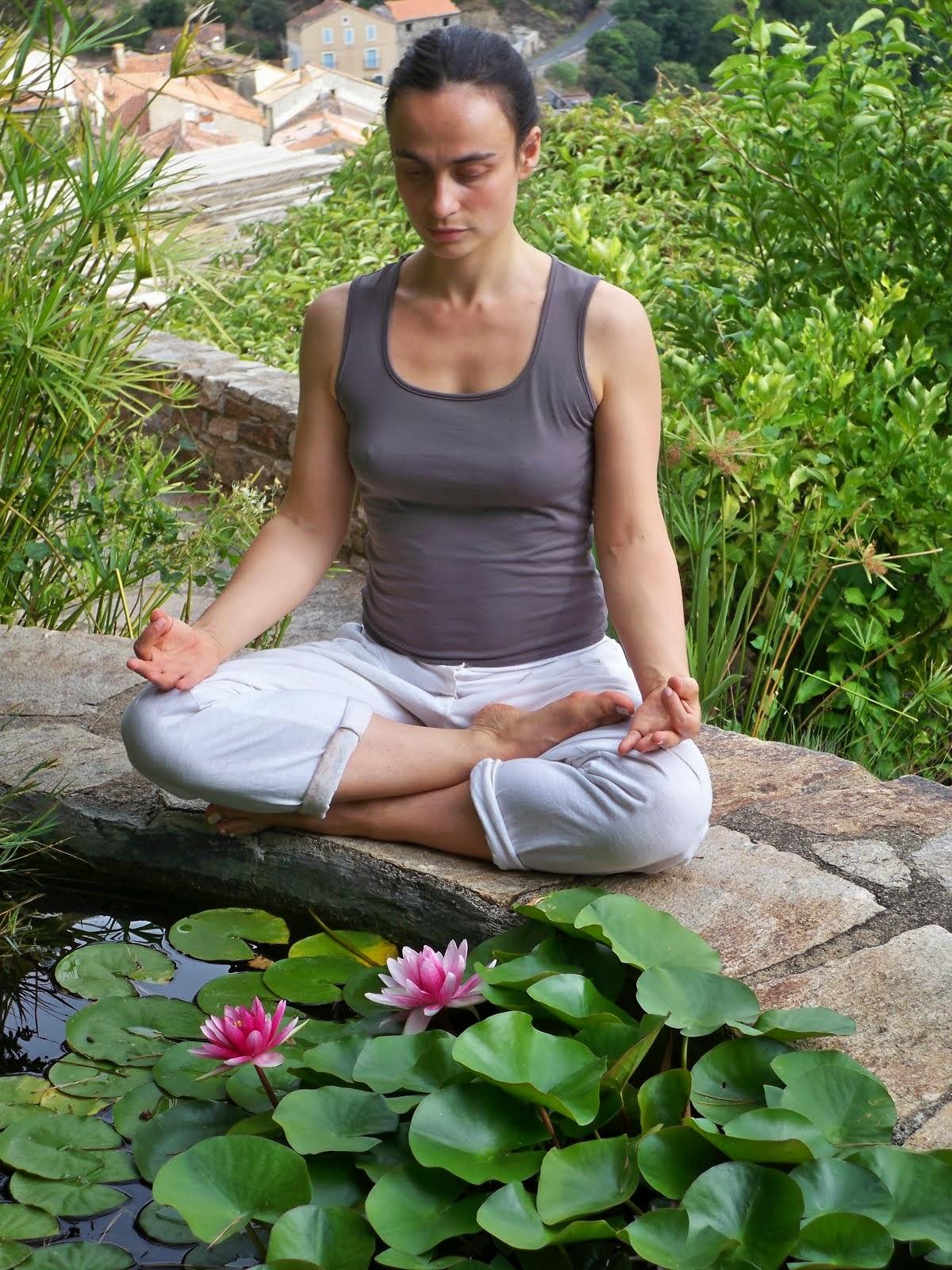 En méditation...