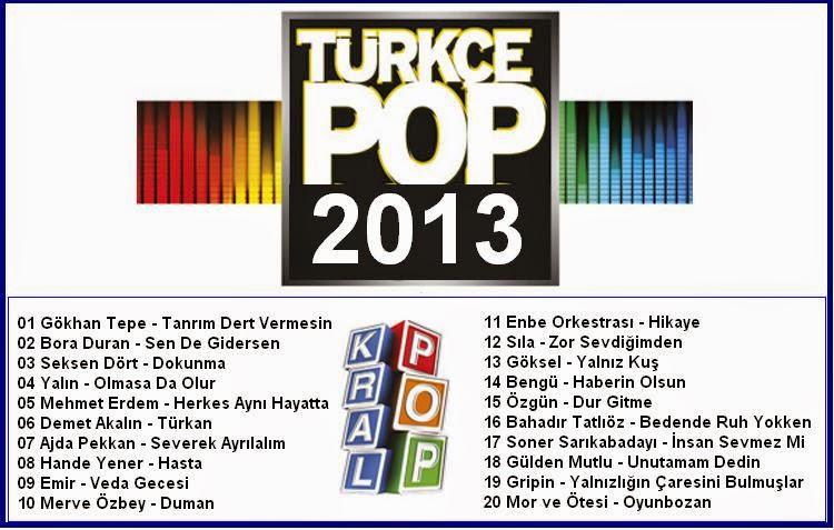 Kral pop hit2013 top 20 listesi dinle indir