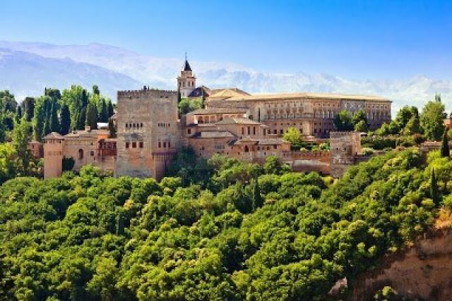 España-alhambra-europa-paisajes