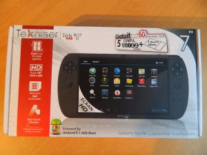 Tekniser TEK807D: a valid competitor to the Archos GamePad?