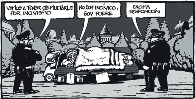 hungria - Hungría multará con 500 euros o seis meses de cárcel a los 'sin techo' Ser+pobre+en+Espa%25C3%25B1a