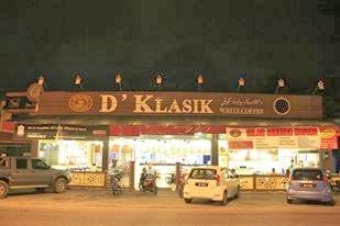 d'klasik kopitiam, kota bharu, tempat makan menarik