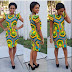 Simple And Lovely Ankara Short Gown for Ladies