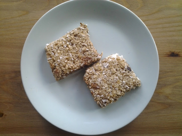microwave oat bars recipe