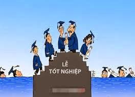Hình hài hước sinh viên thất nghiệp