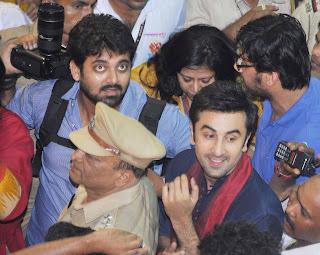 Ranbir Kapoor visits Lalbaugcha Raja, Mumbai