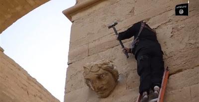 Άσυλο στα έργα τέχνης που απειλούνται από τζιχαντιστές παρέχει ο Ολάντ