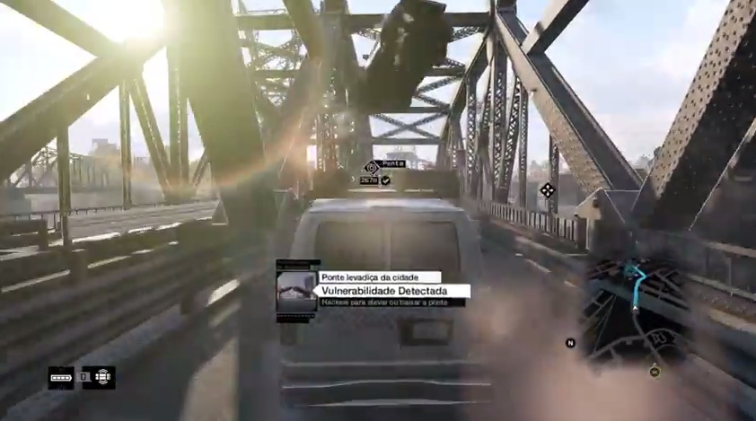 watch dogs flying car