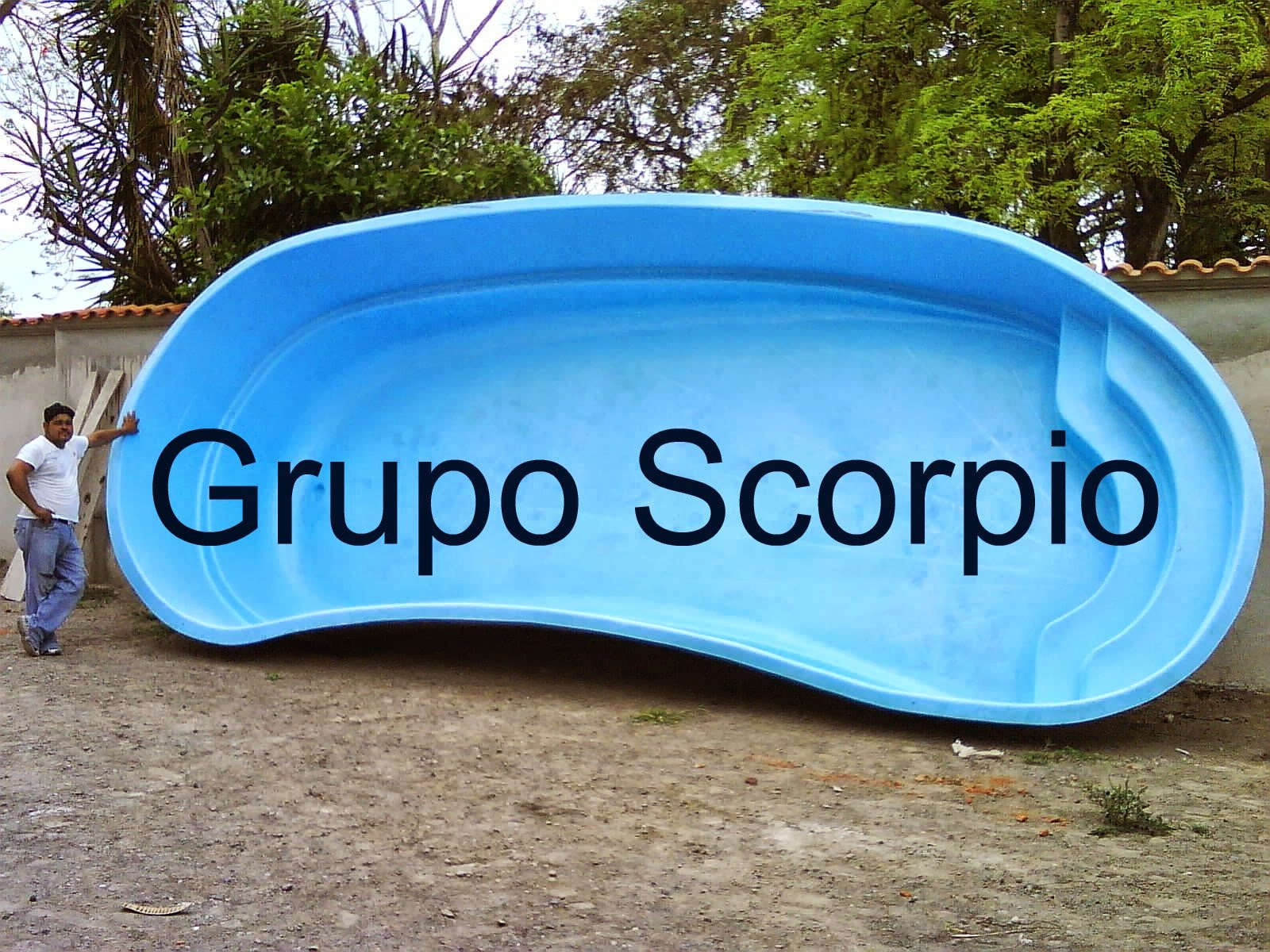 Grupo scorpio albercas y toboganes for Albercas portatiles en hermosillo