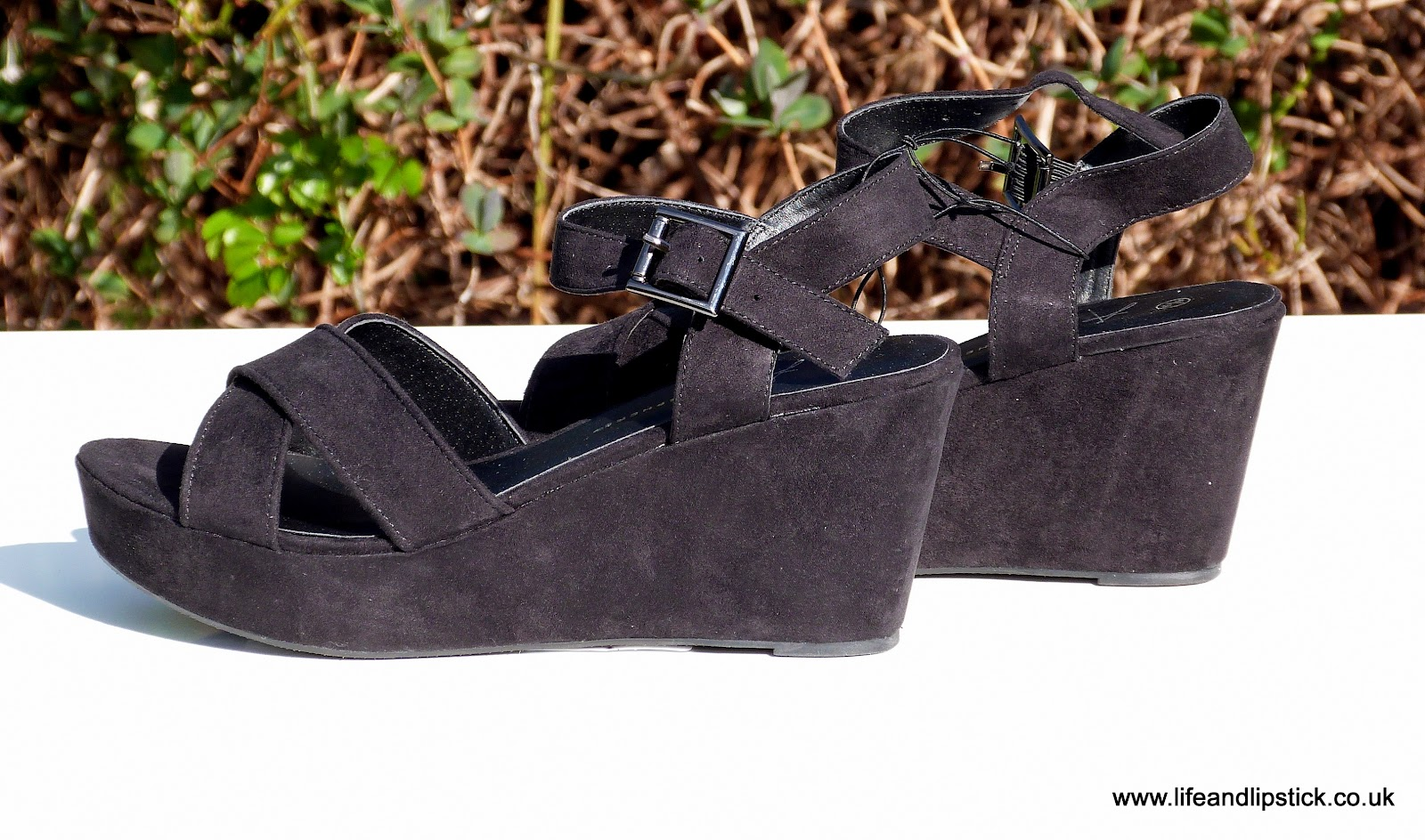 Primark Black Wedges