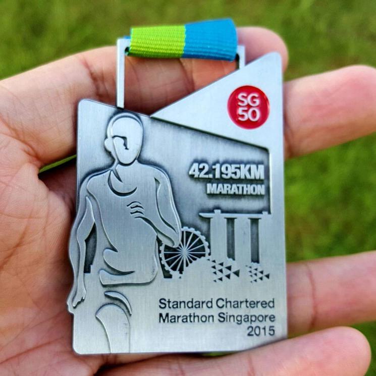 Medal (42.195km Marathon 2015)