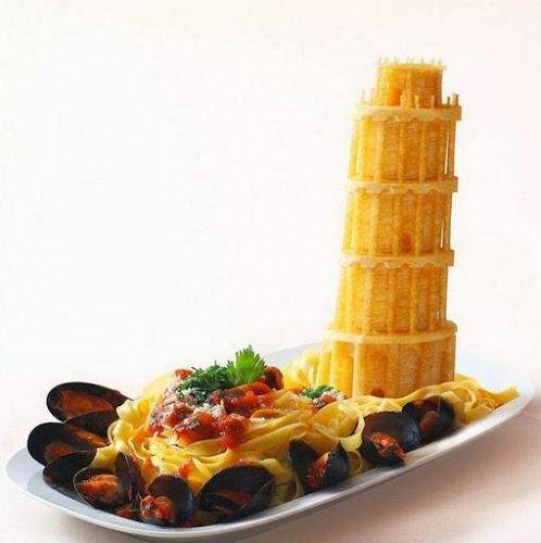 Makanan Lezat Bentuk Luar Biasa