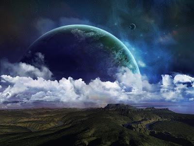 Great Space art wallpaper
