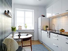 Kitchen Set Apartemen Minimalis Modern 2013
