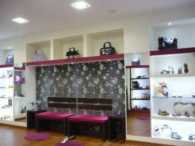 Interiorismo y decoracion lola torga el antes y despu s de un local comercial decoracion de - Mobiliario zapateria infantil ...