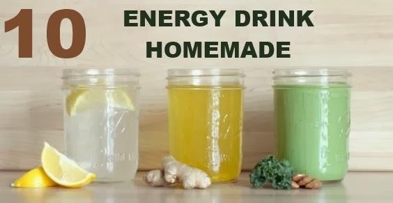 mangiare sano si pu energy drink 10 ricette naturali. Black Bedroom Furniture Sets. Home Design Ideas