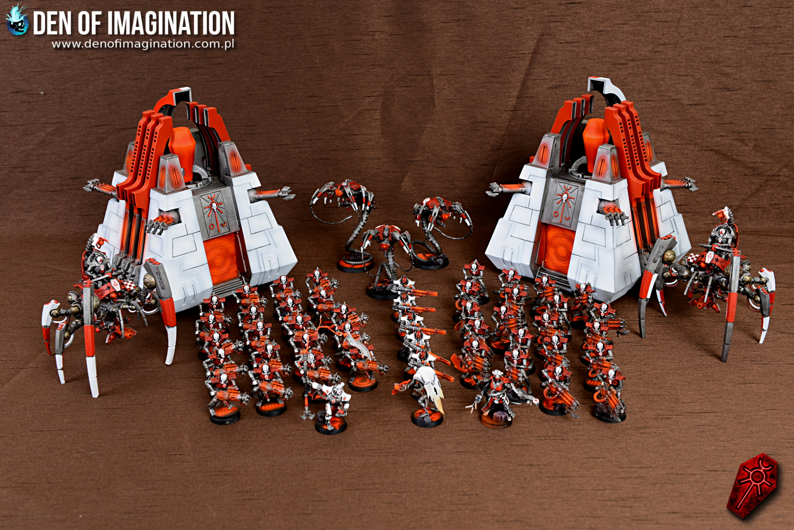 Blog - Red-White Necrons Army