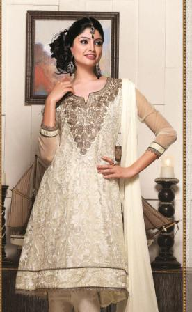 Brown-Anarkali-Churidar-Suit