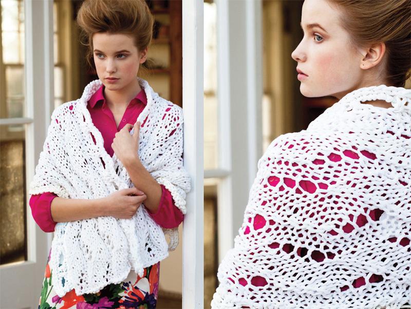 Вязаные модели весна лето 2013 vogue knitting