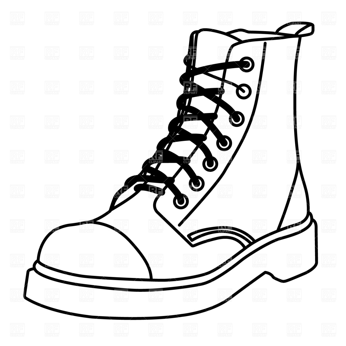 clipart of military boots - photo #13