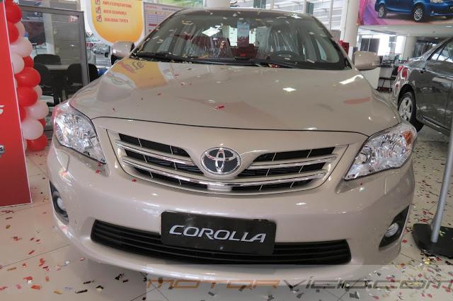 Toyota Corolla 2014 - Tabela de preços