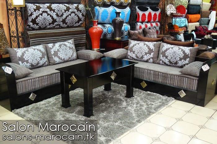 Salon marocain énormément confortable