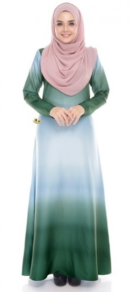 JUBAH DRESS EL VIDA (NURSING FRIENDLY)