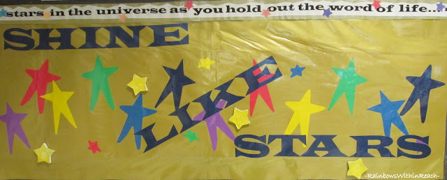 photo of: Shine Like the Stars Bulletin Board