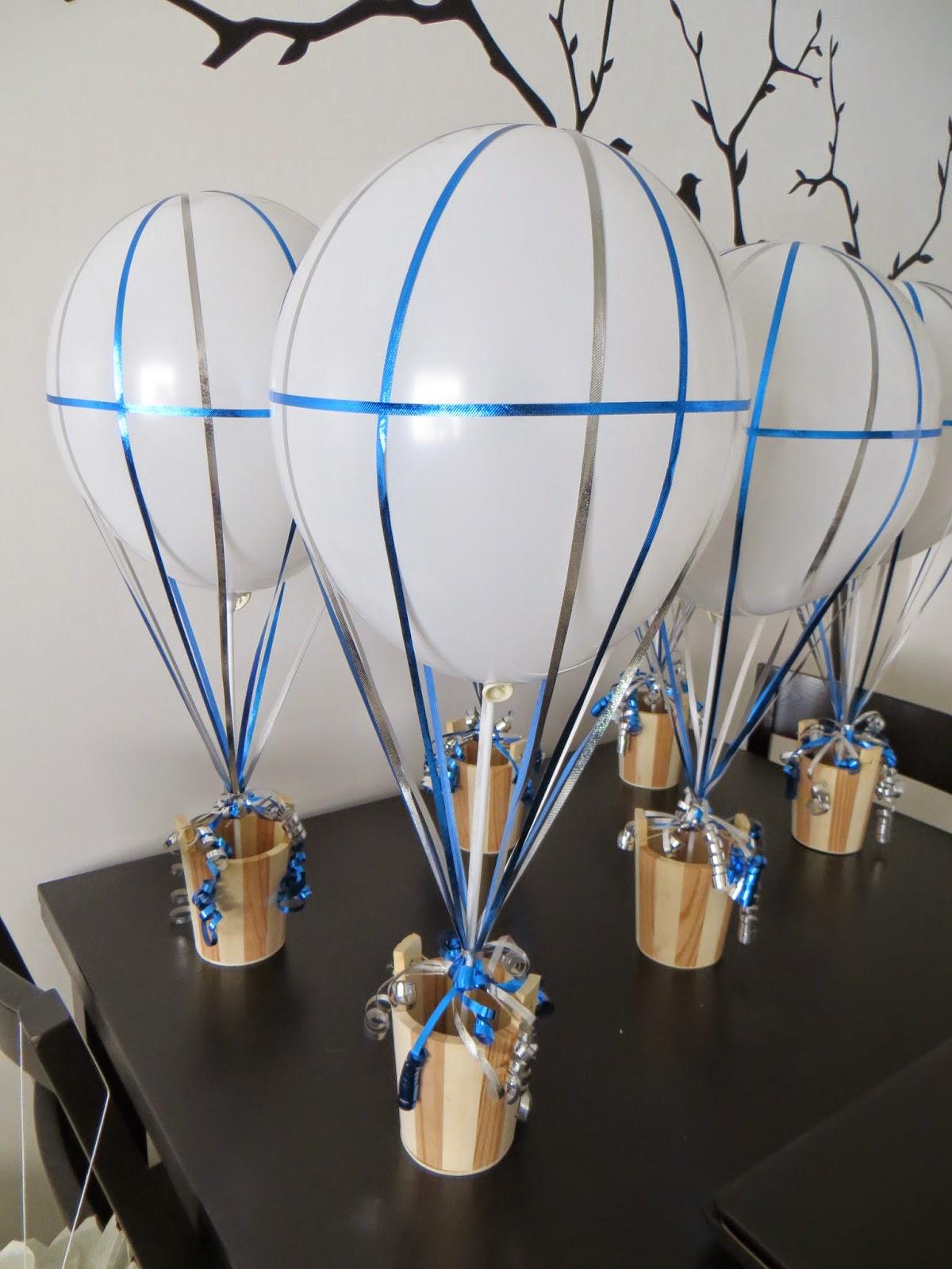 Cicy guimond the diy air balloon centerpieces for